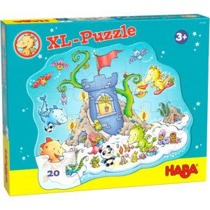 Puzzle XL Fête chez les dragons